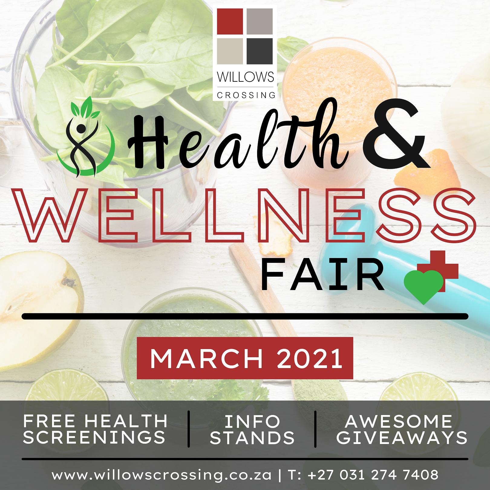 Willows Crossing Shopping Centre Health & Wellness Fair